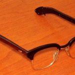 Lesena korekcijska očala so modni hit
